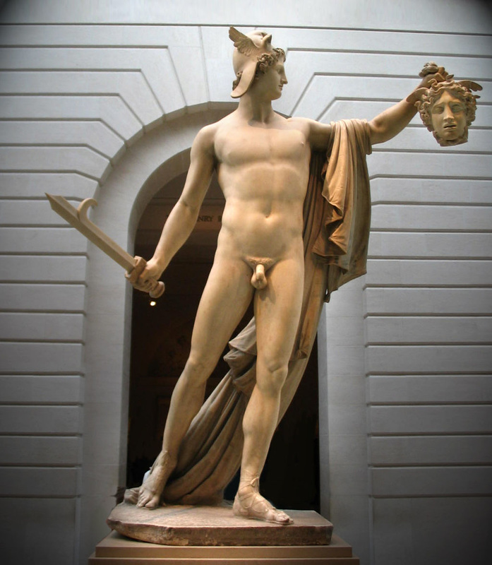 A Description Of Perseus With The Head Of Medusa By Canova