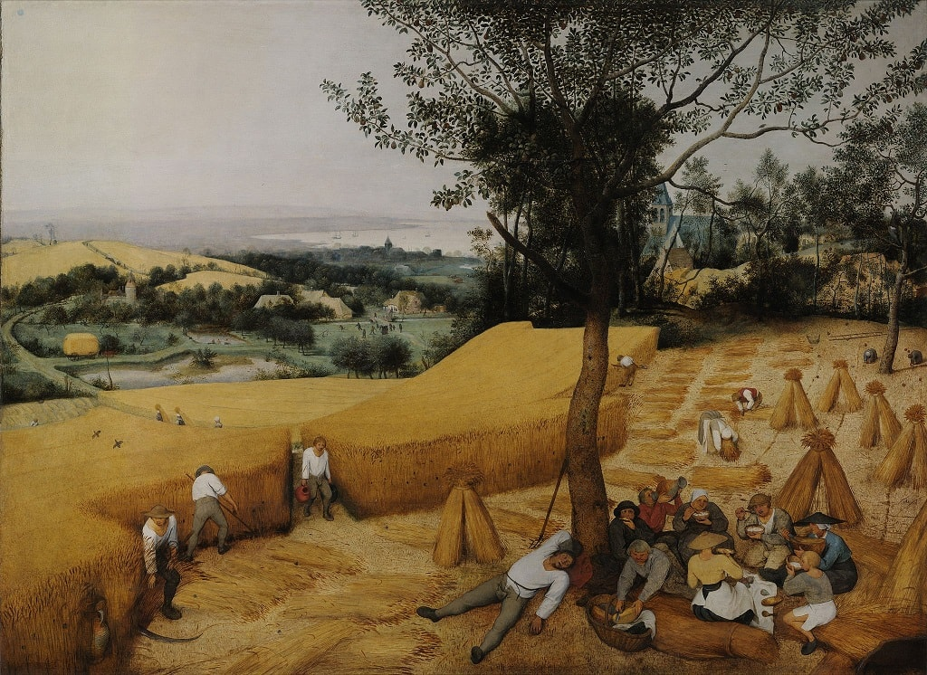 The Harvesters by Pieter Bruegel the Elder in the Metropolitan Museum of Art