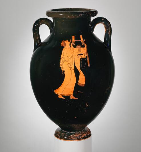 Terracotta Amphora - Type C - by the Berlin Painter in the Metropolitan Museum of Art