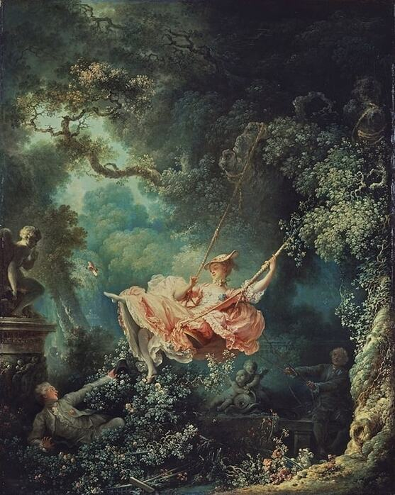 The Swing by Jean-Honore Fragonard in the Wallace Collection in London