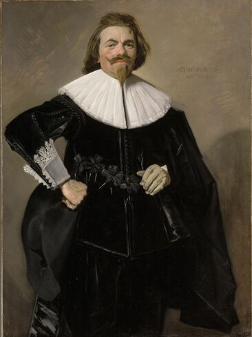 Portrait of Tieleman Roosterman by Frans Hals in the Cleveland Museum of Art