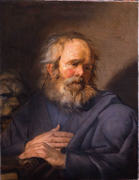 Saint Mark by Frans Hals in the Pushkin Museum in St. Petersburg