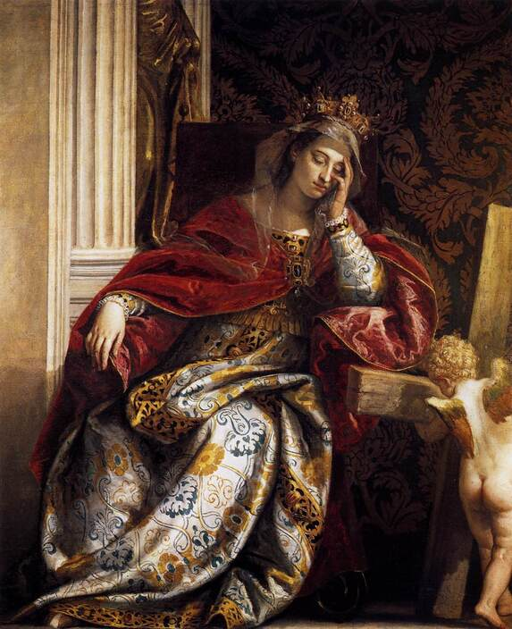 The Vision of Saint Helena by Paolo Veronese in the Vatican Museums in Rome