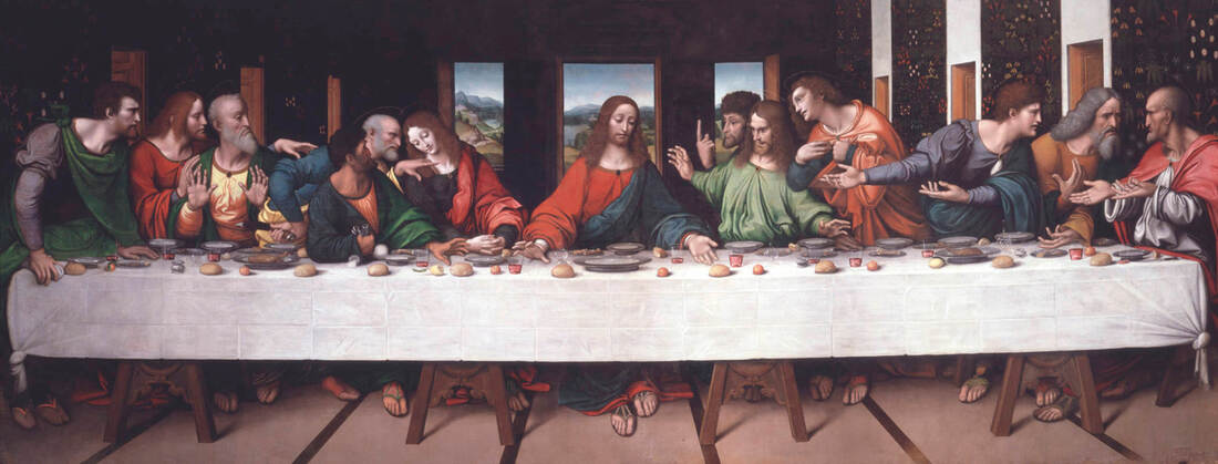 The Last Supper by Giampietrino in The Royal Academy of Arts, London