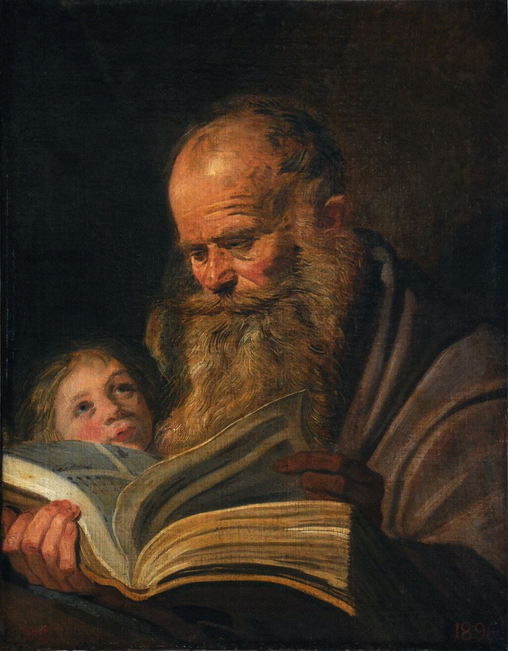 St. Matthew by Frans Hals in the Odessa Museum of Western and Eastern Art