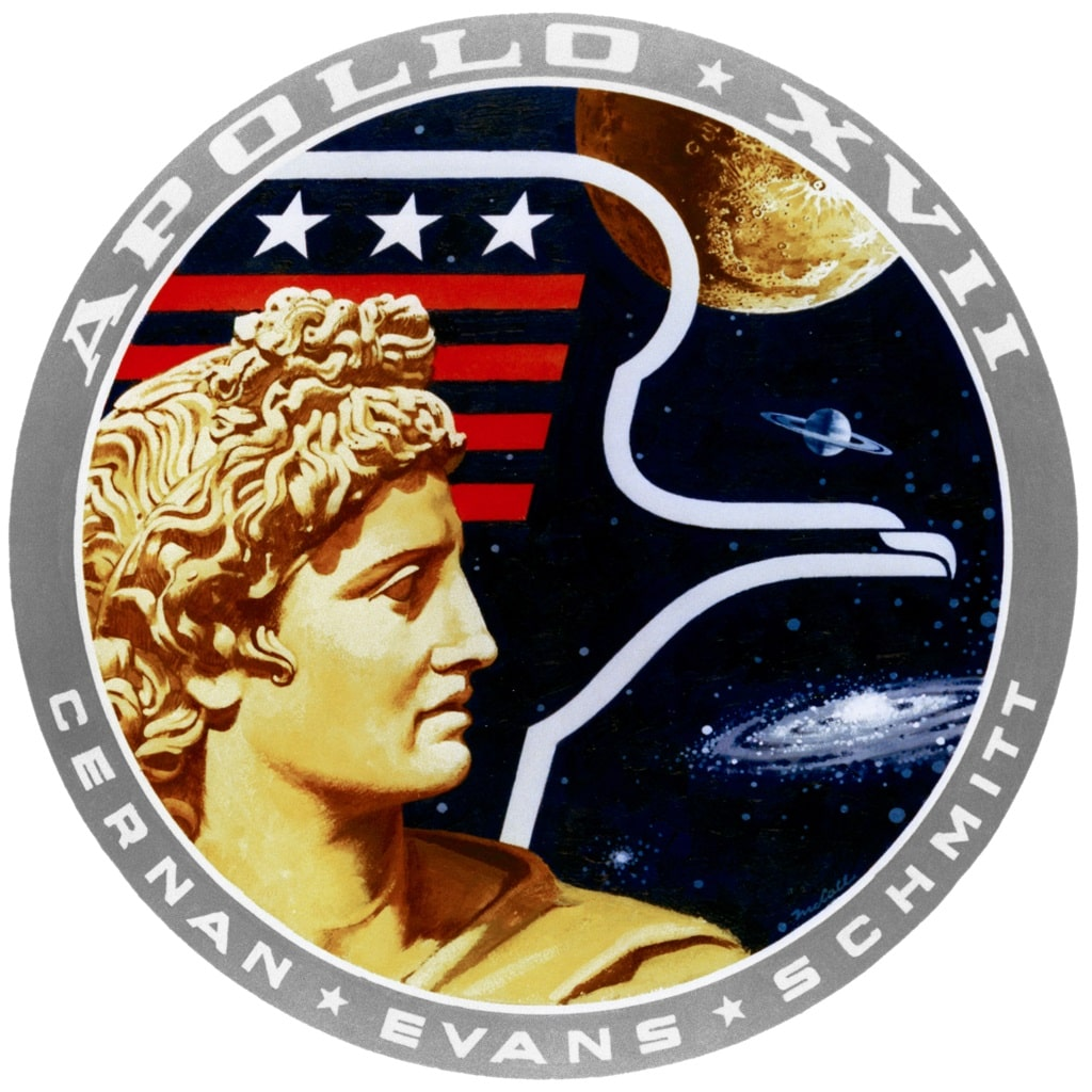 Emblem of the Apollo 17 space mission