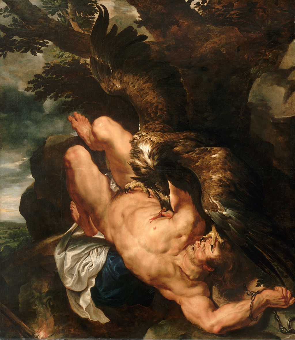 Prometheus Bound by Peter Paul Rubens in the Philadelphia Museum of Art