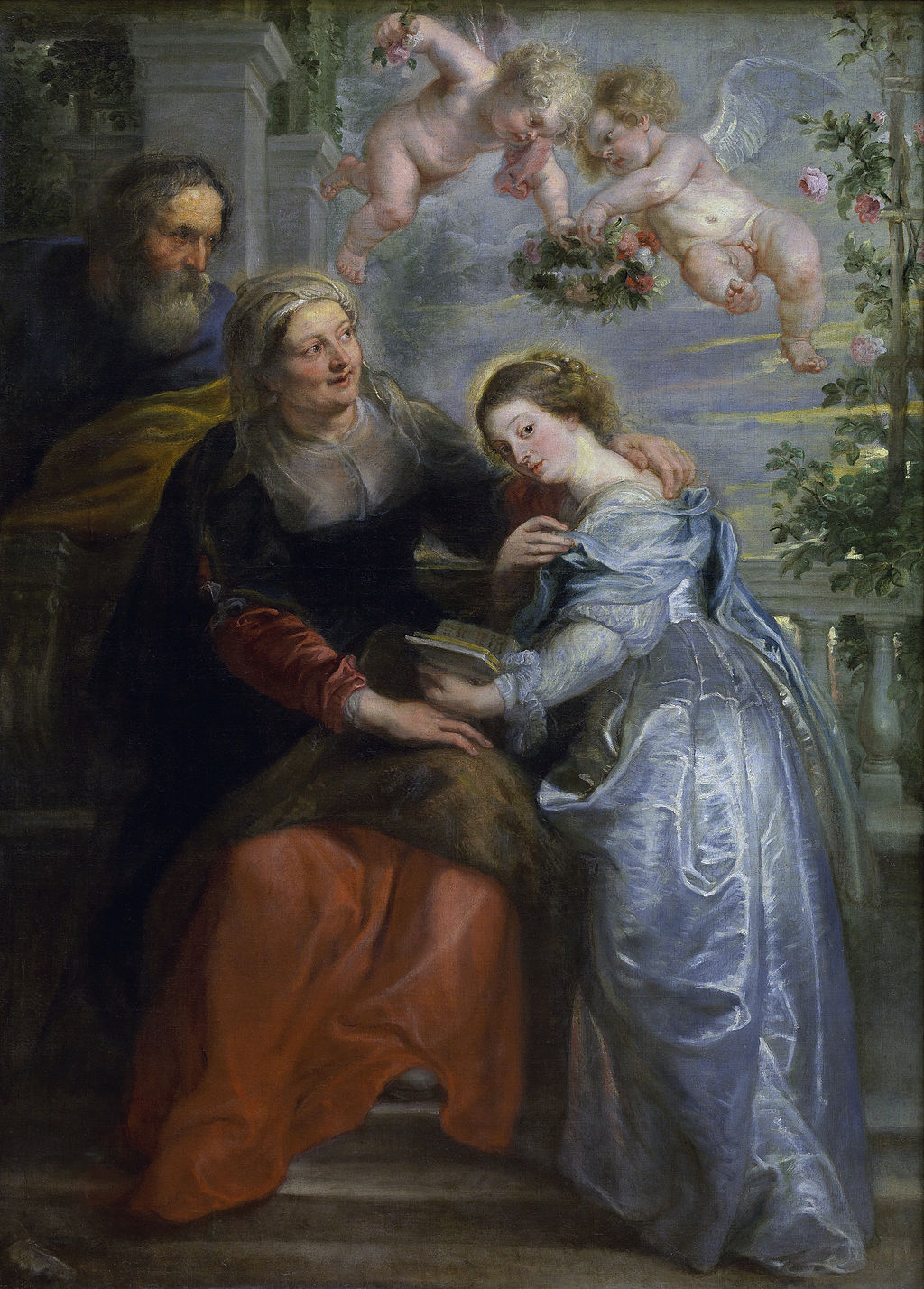 The Education of the Virgin by Peter Paul Rubens in The Royal Museums of Fine Arts in Antwerp