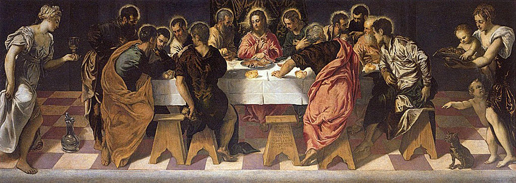 Last Supper by Tintoretto