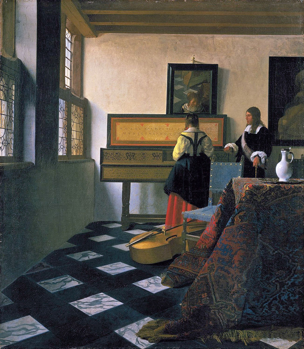 A discussion of Young Woman with a Water Pitcher by Vermeer