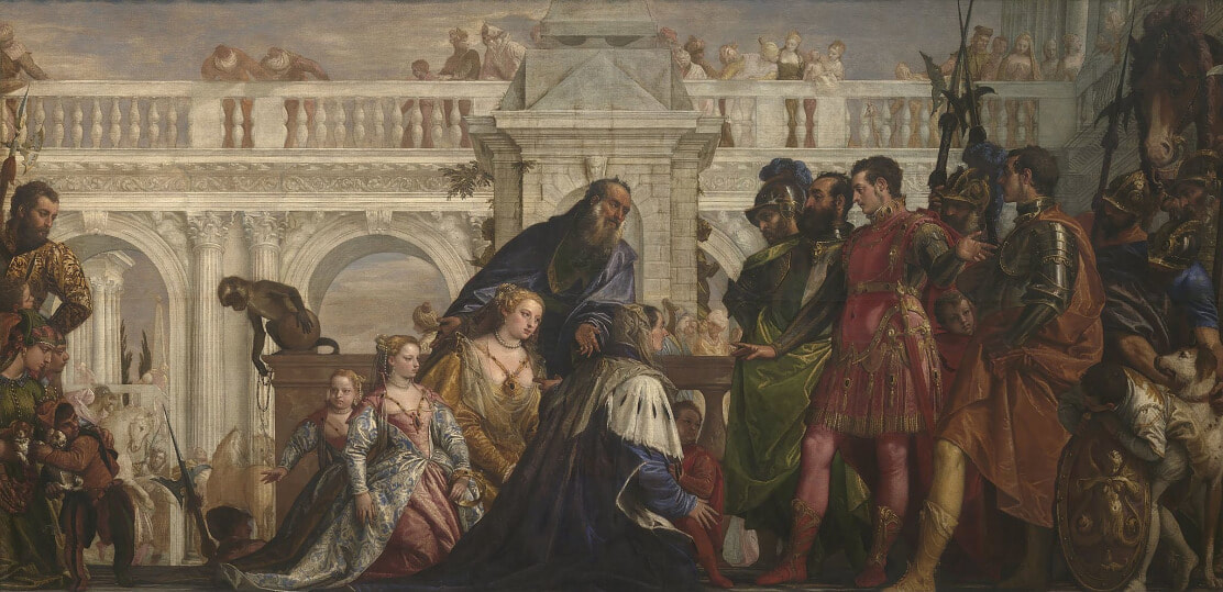 The Family of Darius before Alexander by Paolo Veronese in the National Gallery in London